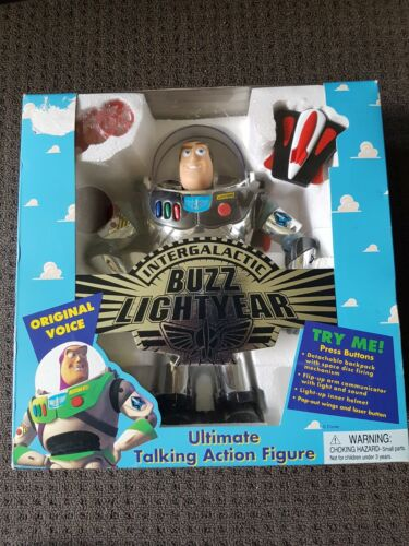 Unopened NOS 1995 Intergalactic Buzz Lightyear Toy Story