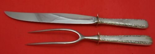 Candlelight by Towle Sterling Silver Roast Carving Set 2pc HHWS Vintage Heirloom
