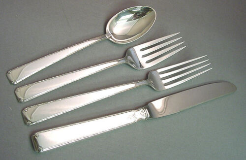 OLD LACE - TOWLE 4 PIECE STERLING LUNCH PLACE SETTING(S)*FRENCH BLADE*