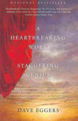 A Heartbreaking Work of Staggering Genius by Dave Eggers Paperback Book Free Shi