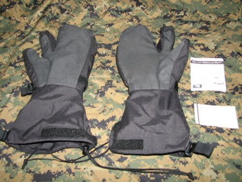 OR outdoor research trigger finger mitt black size XXL gore-tex w/liners USMC