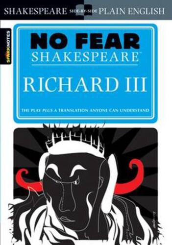 Richard III by William Shakespeare (English) Paperback Book Free Shipping!