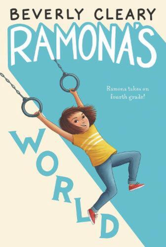 Ramona's World by Beverly Cleary (English) Paperback Book Free Shipping!