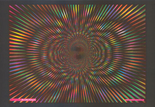 POSTER : PSYCHEDELIC :  EXPLOSION #2   - FREE SHIPPING !   #18-709     RW15 S