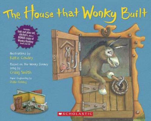 The House That Wonky Built by Craig Smith Free Shipping!