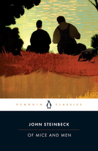 Of Mice and Men by John Steinbeck (English) Paperback Book Free Shipping!