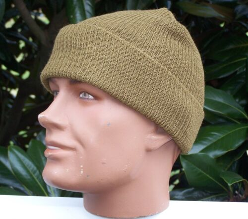 Watch Hat Cap Coyote NEW for Army Military USMC Navy Tuque with P38 Can Opener Reproductions - 156470
