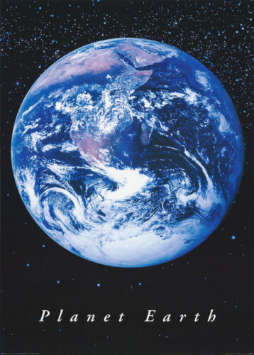 POSTER : ART:  PLANET EARTH      -          FREE SHIPPING ! #PP0132    RW20 X