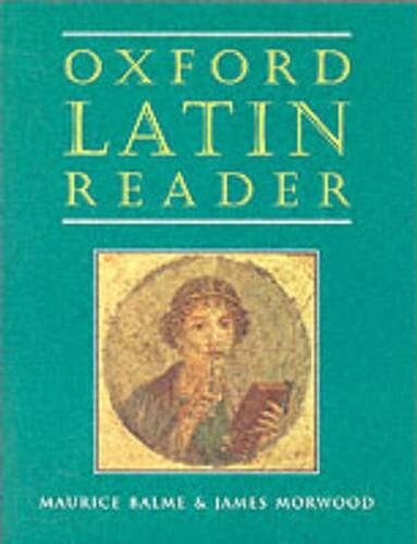 Oxford Latin Reader by Maurice Balme (English) Paperback Book Free Shipping!