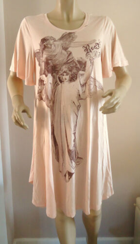 NEW PINK/BLUSH GABRIELLE OVERSIZED TOP BY ROCK & REVIVAL SIZES 10,12,14,16