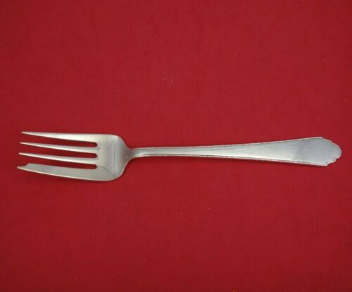 """William and Mary by Lunt Sterling Silver Salad Fork 6"""" Flatware Vintage"""