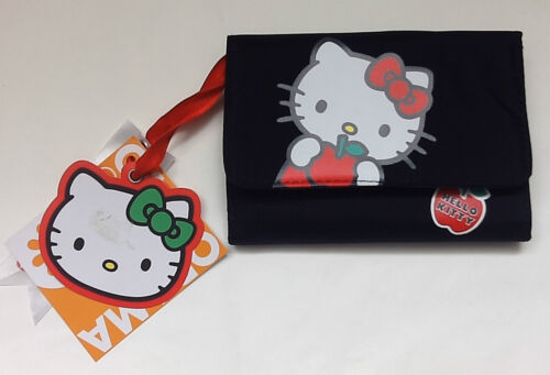 PORTAFOGLIO BORSELLO DOUBLE HELLO KITTY  APPLE