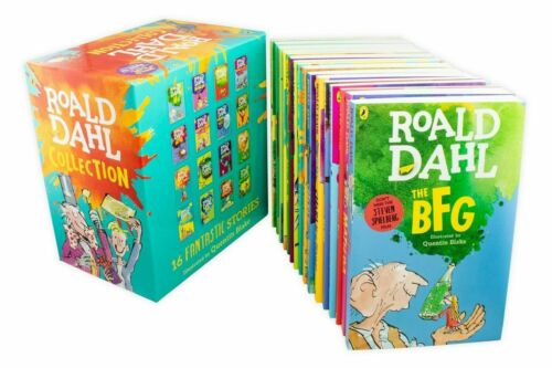 ROALD DAHL Collection 15 Books Box Set Phizz Wizzing Collection Book