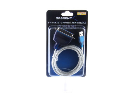 SABRENT USB 2.0 to PRINTER Converter 2M Cable CENTRONICS (36-PIN) NEW SBT-UPPC