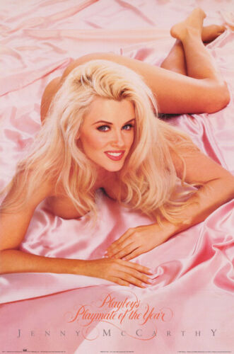 POSTER : JENNY McCARTHY - 1994 PLAYMATE OF YEAR -  FREE SHIPPING ! #2773  LP51 N