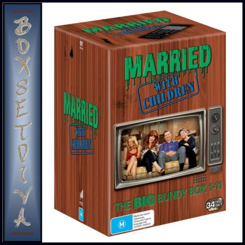 MARRIED WITH CHILDREN -COMPLETE COLLECTION -SERIES 1 -11 *BRAND NEW  DVD BOXSET*