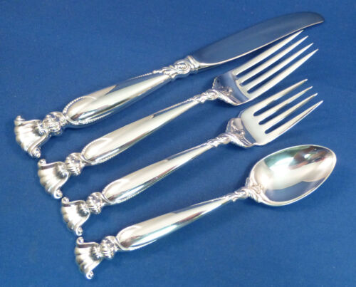 ROMANCE OF THE SEA-WALLACE 4 PIECE STERLING PLACE SETTING(S)