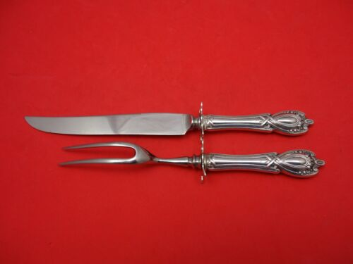 Monticello by Lunt Sterling Silver Steak Carving Set with Guard 2pc