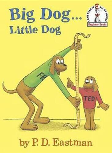 Big Dog...Little Dog by P.D. Eastman (English) Hardcover Book Free Shipping!