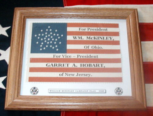 38 Star American Flag....William McKinley Campaign FlagReproductions - 156386