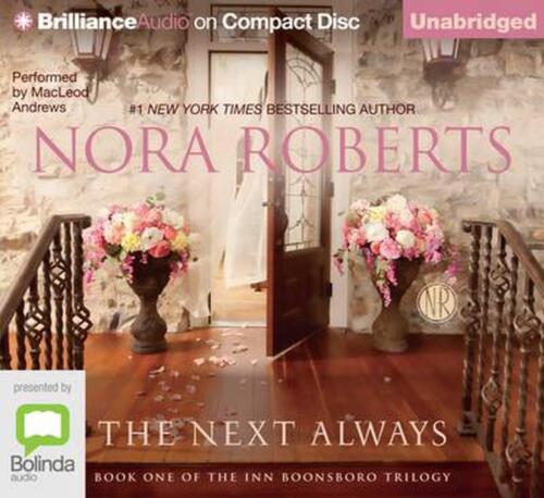 The Next Always by Nora Roberts Compact Disc Book Free Shipping!