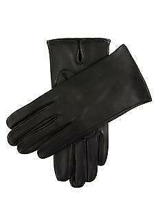 DENTS James Bond Unlined Leather Gloves Black Winter Gift Made In Czech Republic