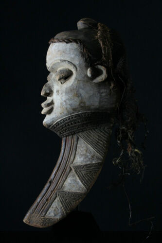 African wooden dance Mask, Pende People, 58cm/23 inch, Zaire, Congo, Africa