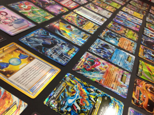 Pokemon Card Lot 100 OFFICIAL TCG Cards Ultra Rare Included - GX EX MEGA + HOLOS <br/> #1 SELLING LOT ON EBAY! 100% AUTHENTIC POKEMON CARDS!