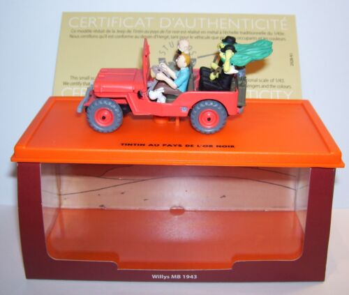 ATLAS MILITARY VOITURE JEEP WILLYS MB 1943 HERGE TINTIN AU PAYS DE L