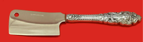 """Crown Baroque by Gorham Sterling Silver Cheese Cleaver HHWS  Custom Made 6 1/2"""""""