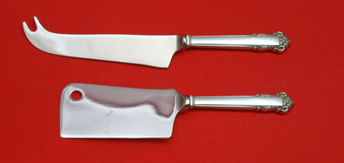 English Shell by Lunt Sterling Silver Cheese Server Serving Set 2pc HHWS Custom