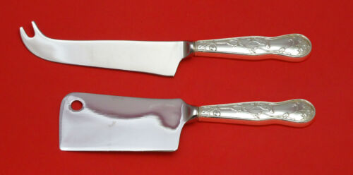 American Garden by Tiffany Sterling Silver Cheese Serving Set 2pc HHWS  Custom