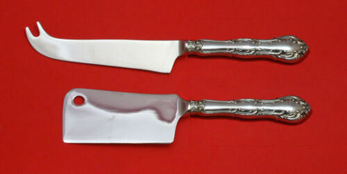 OLD ATLANTA BY WALLACE STERLING SILVER CHEESE SERVER SERVING SET 2PC HHWS CUSTOM