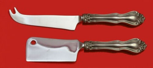 George and Martha by Westmorland Sterling Silver Cheese Serving Set 2pc Custom