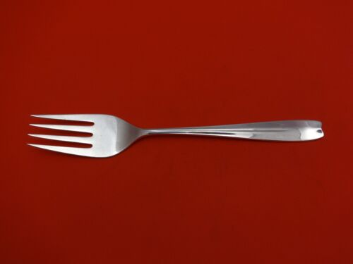 """Cordis by Tiffany and Co Sterling Silver Cold Meat Fork 4-Tine 8 7/8"""" Serving"""