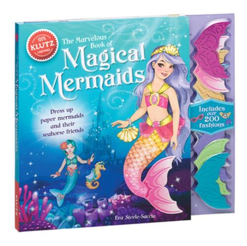 Marvelous Book of Magical Mermaids by Eva Steele-staccio (English) Book & Mercha