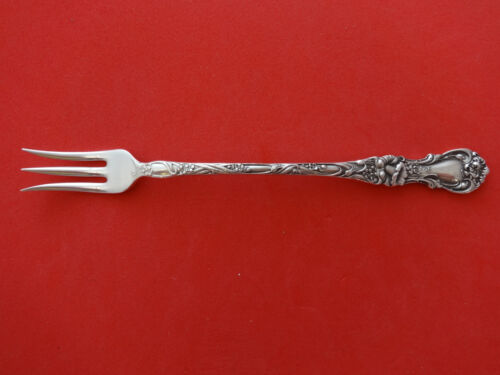 """Floral by Wallace Plate Silverplate Cocktail / Sea Food Fork 5 7/8"""""""