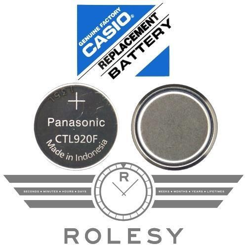 Panasonic CTL920 CTL920F Battery Casio G-Shock Edifice Wave Ceptor Tough Solar