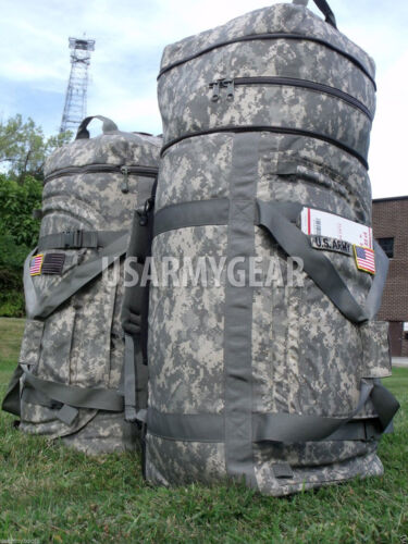 Made in USA Military Army Huge Acu Rolling Wheels Deployment Bag Lugagge DuffleReproductions - 156470