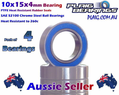 10x15x4mm Ball Bearings (4) UPGRADE to suit all HSP 1:10 RC Cars 2138 02138