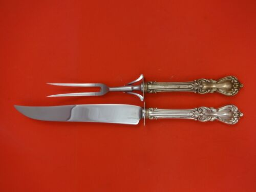 Marlborough by Reed & Barton Sterling Silver Roast Carving Set 2pc HHWS