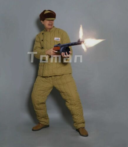 replica korea war chinese  soldier  winter cotton-padded uniform (1950~1953)Reproductions - 156441