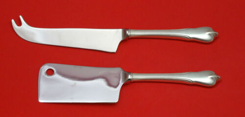 Grand Colonial by Wallace Sterling Silver Cheese Serving Set 2pc HHWS Custom