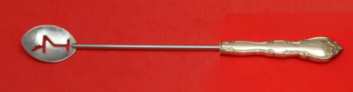 """Rose Tiara by Gorham Sterling Silver Martini Spoon HHWS  Custom Made Approx. 10"""""""
