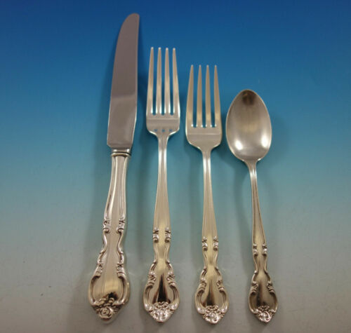 American Classic by Easterling Sterling Silver Flatware Set 8 Service 32 Pieces