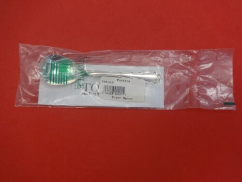 """Fontana by Towle Sterling Silver Sugar Spoon 5 1/4"""" New"""