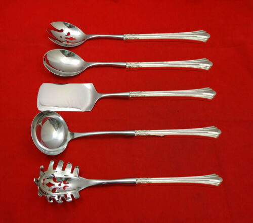 Eighteenth Century by Reed & Barton Sterling Hostess Set 5pc HHWS  Custom Made