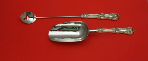 Federal Cotillion by Frank Smith Sterling Silver Bar Set 2pc HHWS  Custom Made