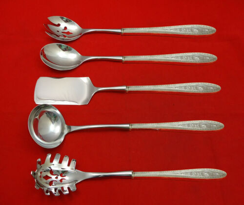 Wedgwood by International Sterling Silver Hostess Set 5pc HHWS  Custom Made