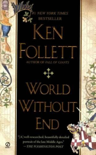 World Without End by Ken Follett (English) Prebound Book Free Shipping!